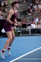 加拿大24岁的网球明星尤金妮·布沙尔(Eugenie Bouchard)(2019 Auckland ASB Classic)